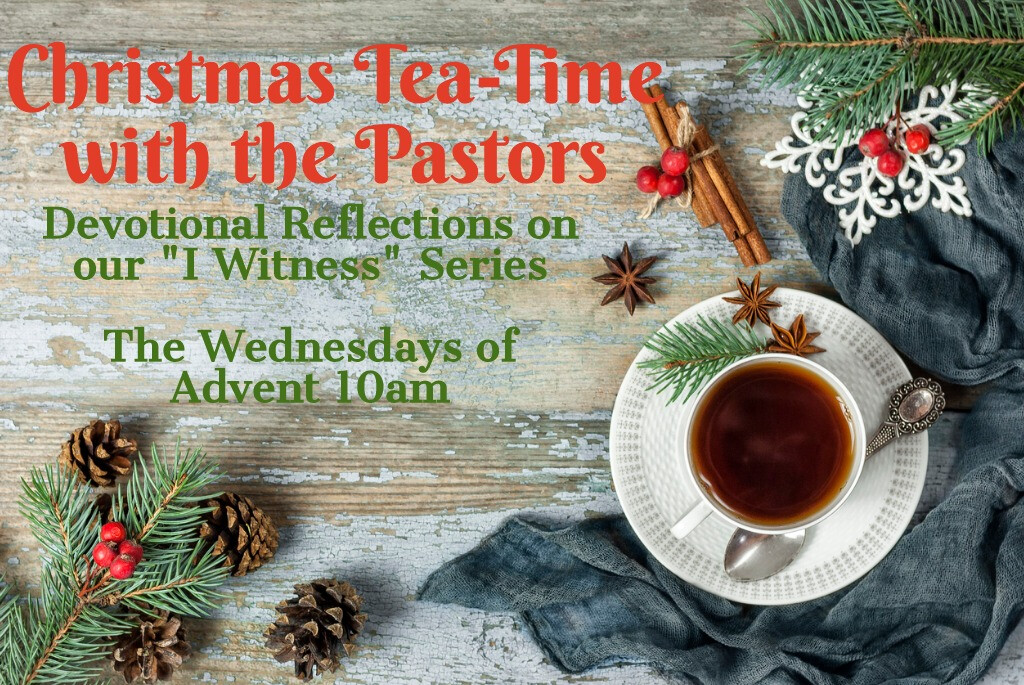 Tea-time with the pastors