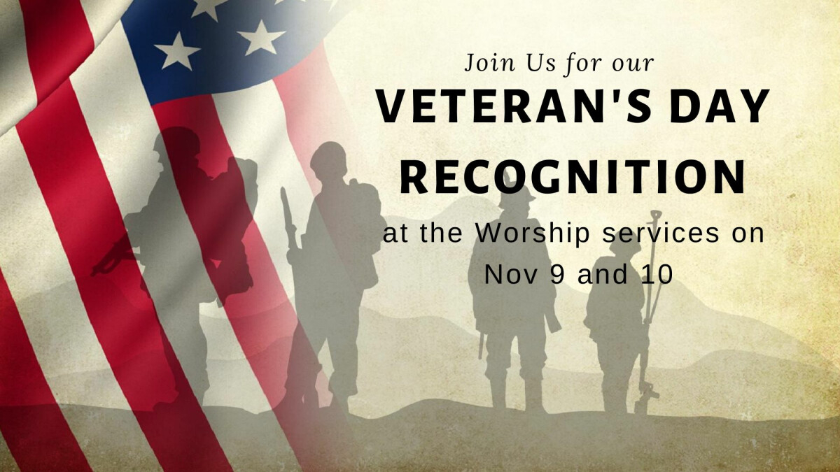 Veteran's Day recognition