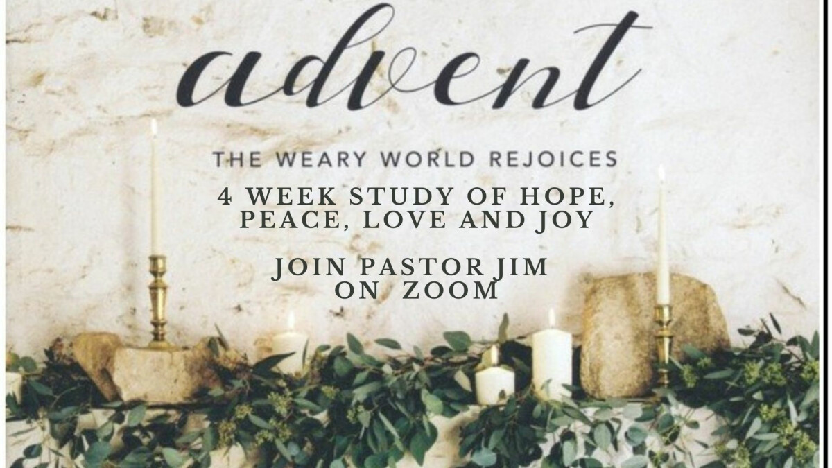Advent - A world weary rejoices